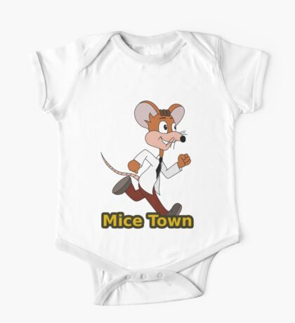Cute cartoon mouse One Piece - Short Sleeve