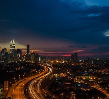 Leading into the City by Nur Ismail Mohammed