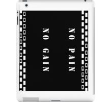 No pain iPad Case/Skin