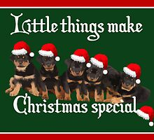 Little Things Make Christmas Special Vector by taiche