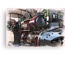 Traction Engine - 2 Canvas Print