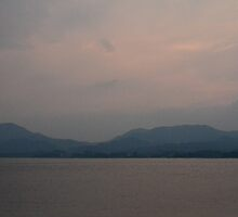Soft sunset on Miyajima Island by LadyTakara