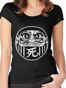 Dark Daruma Women's Fitted Scoop T-Shirt
