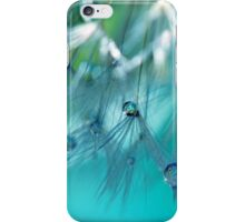 Turquoise Dandy Delight iPhone Case/Skin