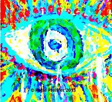 Rainbow Eye by Kater