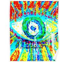 Rainbow Eye Poster