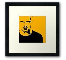 Jesse Pinkman sketch Framed Print