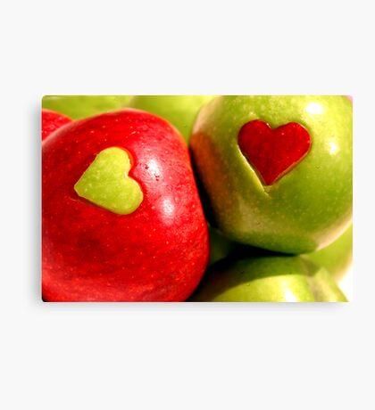 Fruit d'amour Canvas Print
