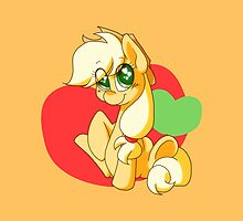 Chibi Apple Jack by Ashley Nichols