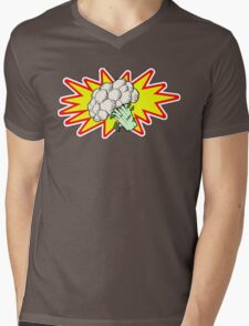 Captain Cauliflower Mens V-Neck T-Shirt