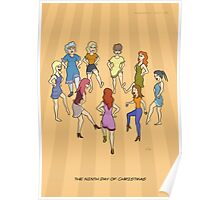 The Ninth Day of Christmas (9 Ladies Dancing) Poster