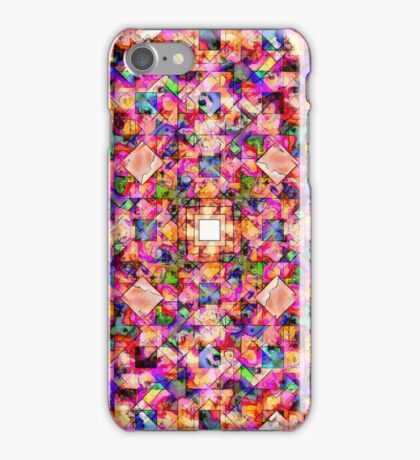 Colorful Digital Abstract iPhone Case/Skin