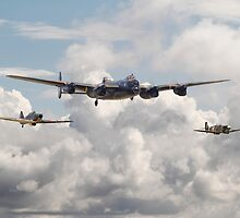 Battle of Britain - Memorial Flight by warbirds