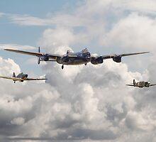 Battle of Britain - Memorial Flight by warbirds