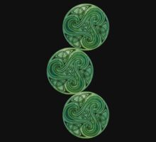 Celtic Green Triskele by Silros