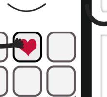 Friendly Smartphone Sticker