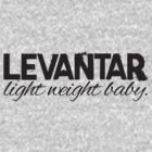 Levantar - Light weight baby (Black) by Levantar