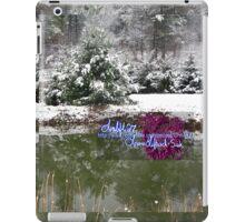 snowy reflections iPad Case/Skin