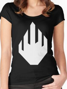 White Hand of Isengard Women's Fitted Scoop T-Shirt