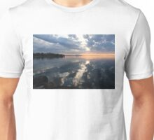 Clouds, and Clouds and Toronto Skyline at Sunrise Unisex T-Shirt