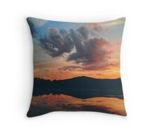 Lake Lackawanna Throw Pillow