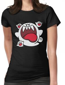 Super Mario - Boo Squad Womens Fitted T-Shirt