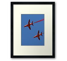Red Arrows - Hawk T1  2/3 Framed Print
