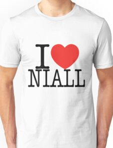 ONE DIRECTION - I LOVE NIALL T-SHIRT Unisex T-Shirt