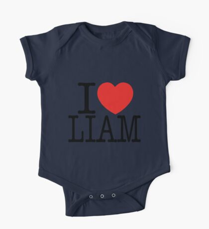 ONE DIRECTION - I LOVE LIAM T-SHIRT One Piece - Short Sleeve