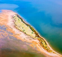 Colourful Outback: Lake Eyre From Above by Sandra Eichler