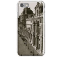 old new famous paris iPhone Case/Skin