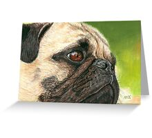 Contentment Pastel Greeting Card