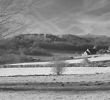 Infrared photo - Axbridge, Somerset by Antony R James