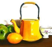Fruit Tea Pastel by AngelaBishop
