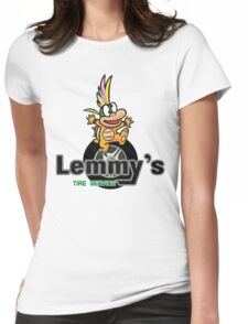 Mario Kart 8 Lemmy's Tire Service Square Womens Fitted T-Shirt