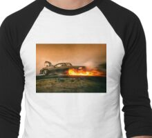 BLOWN Fireworks Men's Baseball ¾ T-Shirt