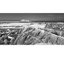 Uphill - looking towards Brean Down Photographic Print