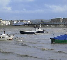 Weston - Boats by Antony R James