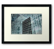 Glass Tower 3 Framed Print