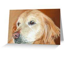 Golden Pastel Greeting Card