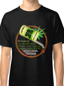 Hemp Oil cures by valxart  learn truth about use of hemp oil to cure illness and pains. Classic T-Shirt
