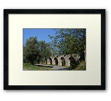 Ancient Roman Aqueduct Framed Print