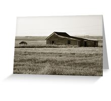 Little House on the Meadow Greeting Card