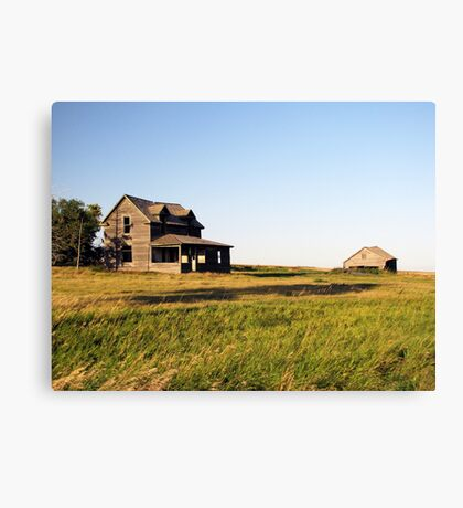 Prarie Abode Canvas Print