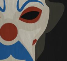 The Dark Knight - Minimalist Movie Poster Sticker