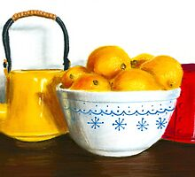 When Life Gives You Lemons Pastel by AngelaBishop