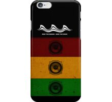 Ride the Riddim - Ride The Wave iPhone Case/Skin