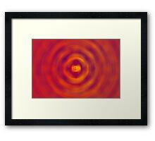 Spiral Chaos Framed Print