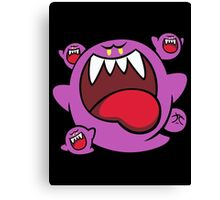 Super Mario - Dark Boo Squad Canvas Print