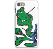 Green squid iPhone Case/Skin